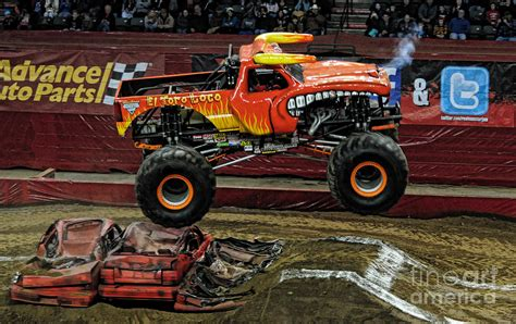 el toro loco monster truck videos monster truck el toro loco photograph by paul ward