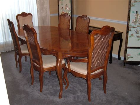 french provincial dining room sets drexel french provincial dining room double leaf table 6
