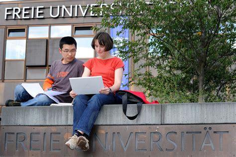 Fu Berlin Studienkolleg Bewerbung Bewerbung Studium Freie Universit 228 T Berlin
