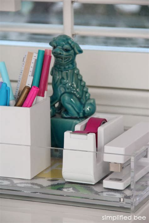 Stylish Desk Organizers Fashionable Desk Accessories My Stylish Desk Accessories A Stylish Organized Desk Favorite