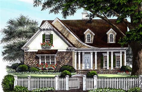 European Country Cottages House Plan 86223 At Familyhomeplans
