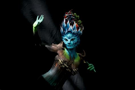 world bodypainting festival austria stunning images from this year s world bodypainting