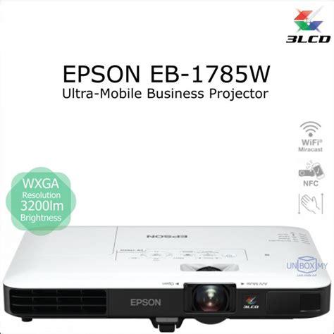 Epson Eb 1785w epson eb 1785w 3lcd wxga ultra mobile projector unbox my