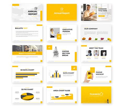 Annual Report Powerpoint Template Pixelify Best Free Fonts Mockups Templates And Vectors Annual Report Powerpoint Template