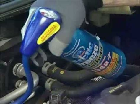 how to recharge your car ac with arctic freeze how to s