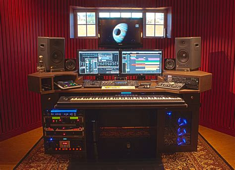 Computer Desk For Recording Studio Pdf Home Recording Studio Desk Plans Plans Free