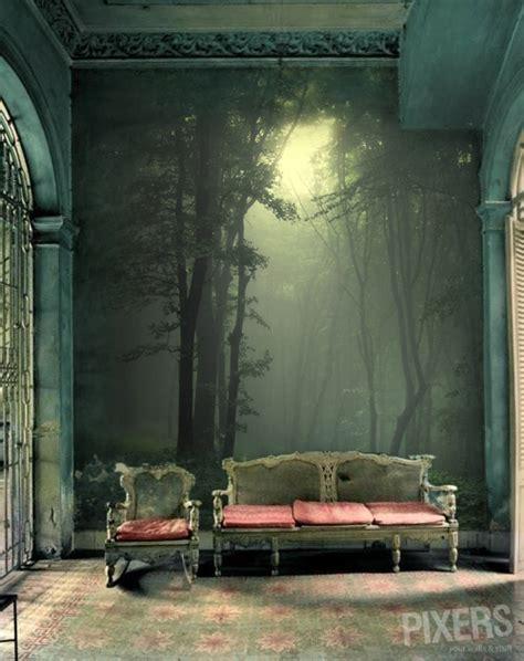 pixers wall murals charming forest themed wall murals pixersize
