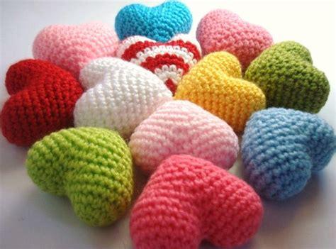 heart pattern amigurumi allsocute amigurumis amigurumi crocheted hearts kalpler