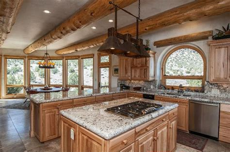 kitchen designs with white cabinets and granite countertops 35 beautiful rustic kitchens design ideas designing idea