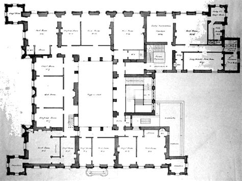 highclere castle floor plans highclere castle aka downton abbey note i adapted