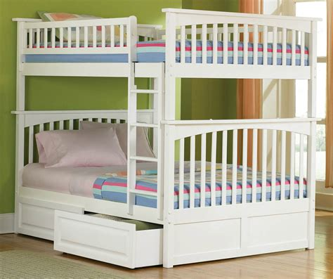 lower bunk beds room large white bunk bed with