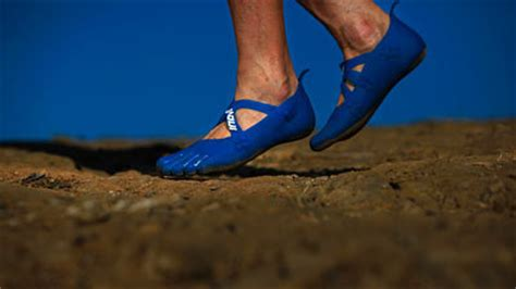 slew foot walking barefoot shoes the next big thing in fitness wear