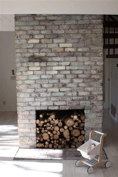Brick Fireplace Paint Colors - the treehouse whitewashed bricks tutorial design mom
