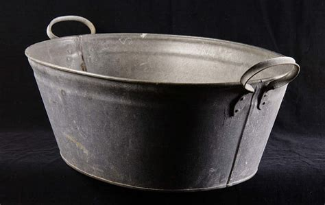 Tin Bathtub by Tin Bath Used By Coal Miners For Washing Peoples