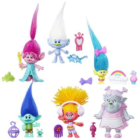 Trolls Figure by Trolls Small Troll Town Collectible Figures Wave 3
