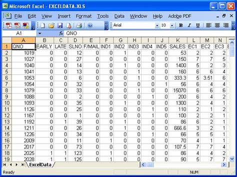 format of excel file datacsv guided tour