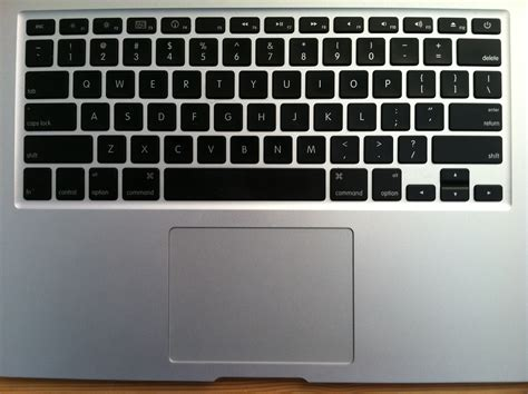 macbook air review part 3 keyboard and trackpad