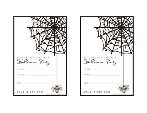 printable halloween invitations free printable bowling party invitation templates