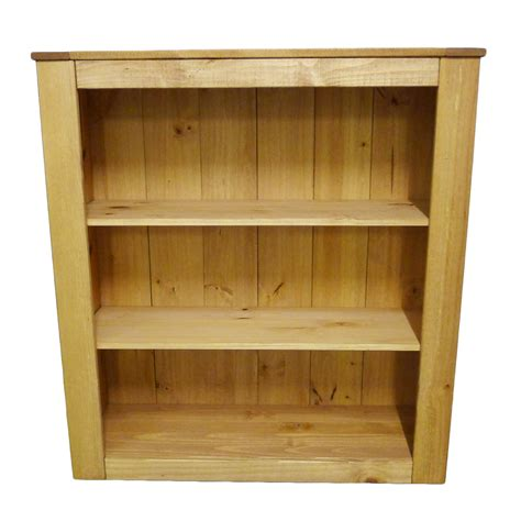 st albans solid pine bookcase bookshelf storage unit or