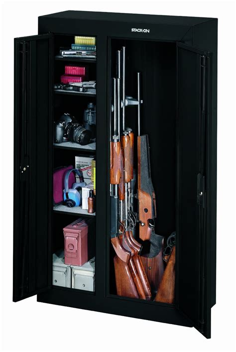 stack on door gun cabinet a marvelous door gun cabinet gun safe company