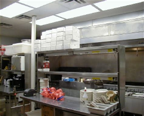 Kitchen Lighting Requirements Beffel Lighting Jackson Michigan Provided The Restaurant Lighting Design For The Saucy S