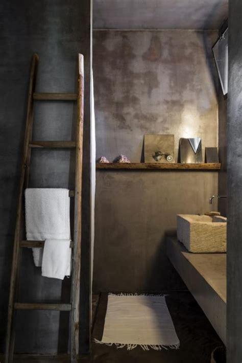 Badkamer Hout Beton by Betonstuc En Hout Badkamers Voorbeelden