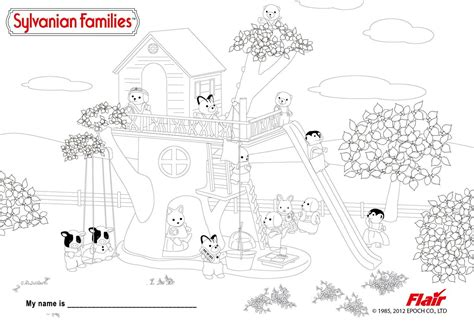 sylvanian family coloring page sylvanian families coloring pages google search