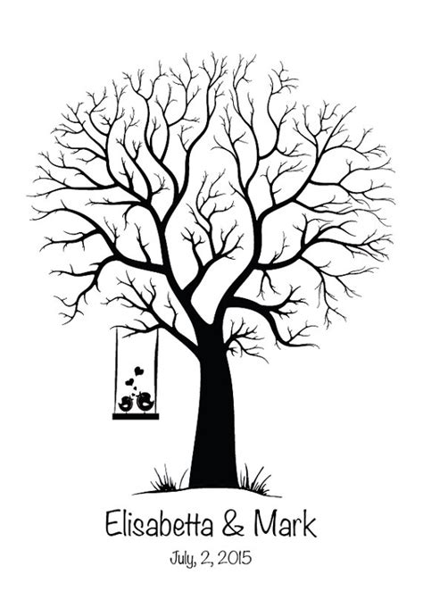 guestbook tree template excellent guest book template pictures inspiration