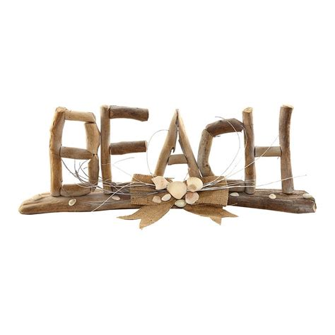decorative display letters driftwood beach letters decorative display plaque c f