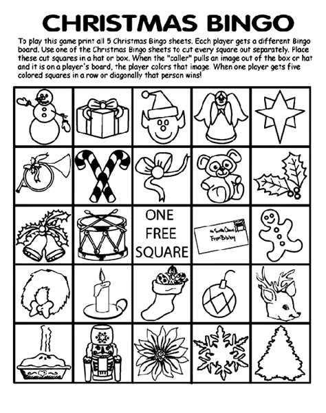 printable christmas bingo cards black and white christmas bingo board no 2 coloring page crayola com