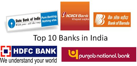 indian bank banking top 10 banks in india