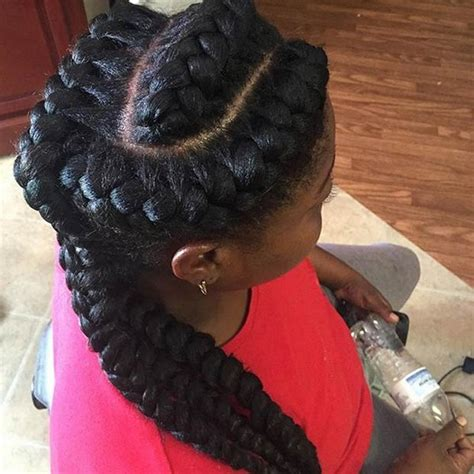 black hair styles with goddess braid or french braid 82 goddess braids hairstyles with pictures beautified
