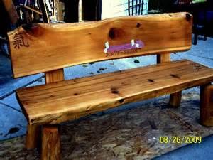 Split Log Bench For Sale Cedar Log Bench Plans Pdf Woodworking