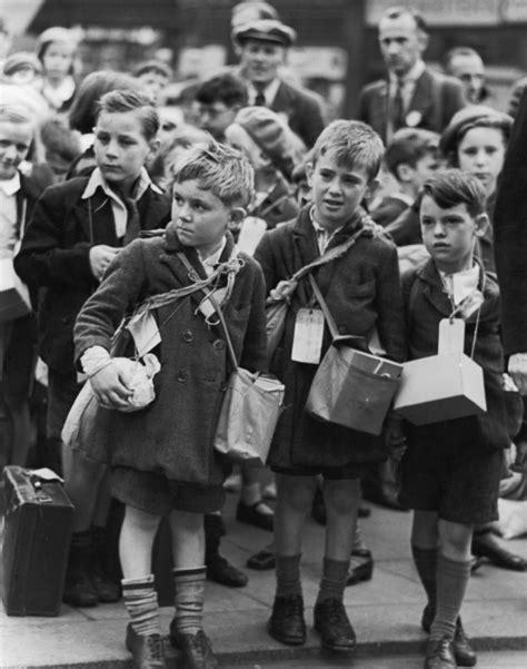 children and world war 1445105799 children being evacuated out of london during the outbreak of world war ii 1939 william
