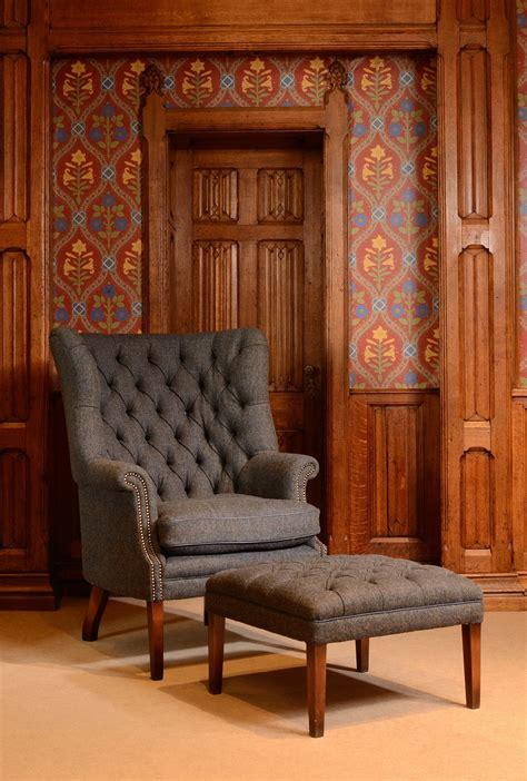 finds harris tweed armchair homegirl