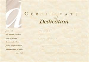 dedication template c1208ct dedication certificate envelope babies