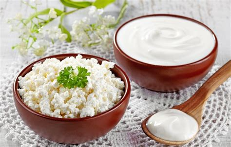 wallpaper sour milk products cottage cheese dairy