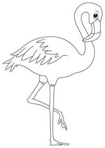 flamingo coloring pages free coloring pages of a pink flamingo