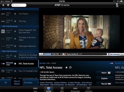 u verse adds live tv streaming via web and ipad now