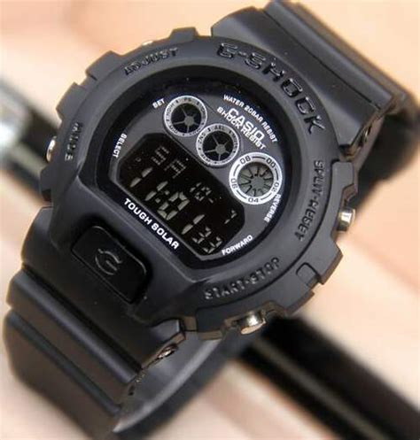 Jam Tangan G Shock Digital Black jual jam tangan g shock dw 6900 black digital