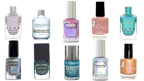10 Prettiest Nail Polishes by Top 10 Best Holographic Nail Colors Heavy