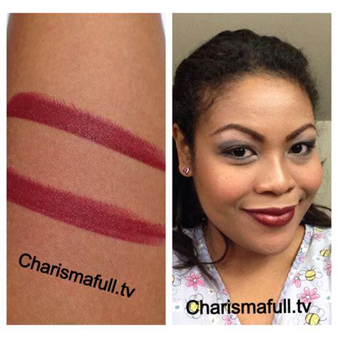 www full mac sin lipstick reviews photos w swatches charismafull