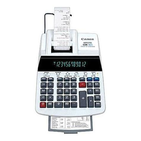calculator function canon cnnmp27d standard function calculator calculators best