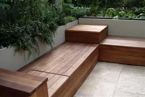 how to build a bench seat with back outdoor storage bench seat plans
