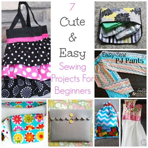 easy sewing craft projects 7 easy sewing projects for beginners sewing