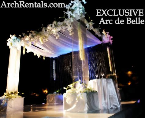 Wedding Arch Rental Near Me by Acrylic Wedding Chuppah Altar Lucite Chuppa Rentals Los