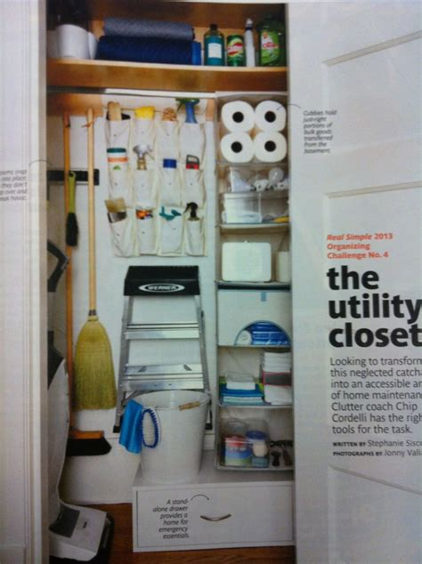 cleaning closet ideas utility closet organization getting organized pinterest closet organization utility