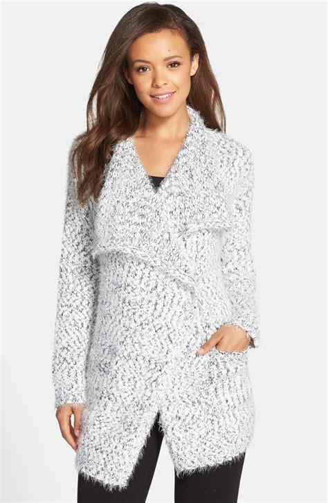 Sweater Wanita Batwing Verve pj salvage drape collar boucl 233 cardigan nordstrom