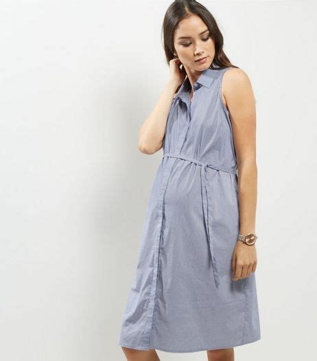 Maternity Sleeveless Shirt Dress maternity clothes tops jumpers more new look