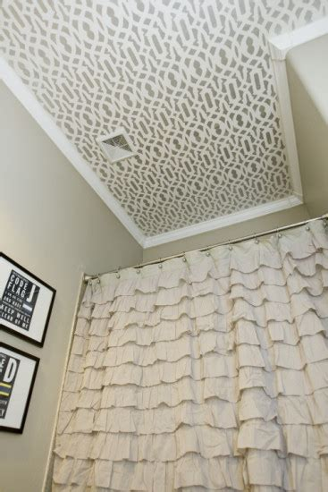 painted ceilings in bathrooms painted decorated ceilings